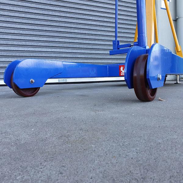 FH78 Mobile Floor Crane Castors