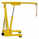 1500 KG CAPACITY MOBILE FLOOR CRANE WORKSHOP