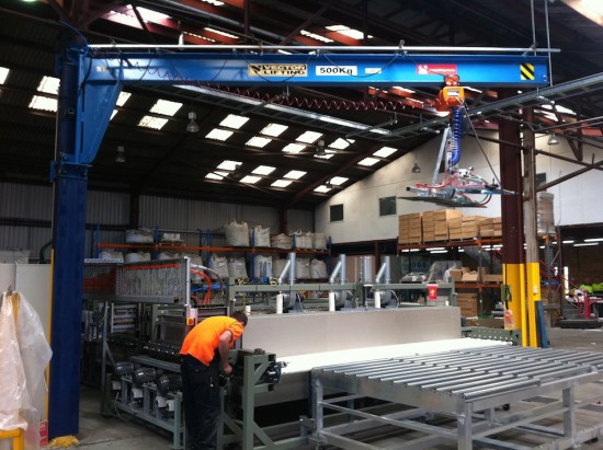 PHOENIX COLUMN-WALL MOUNTED JIB CRANE