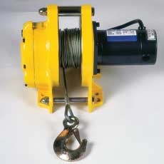 Pacific 12 and 24 Volt Winches