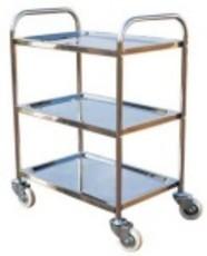 Stainless Steel 3 Tier Hand Platform Trolley