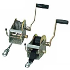 Strap & Wire Manual Winches