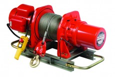 hoists winches - PACIFIC ELECTRIC WINCHES