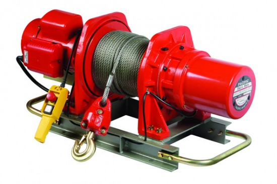 hoists winches – PACIFIC ELECTRIC WINCHES