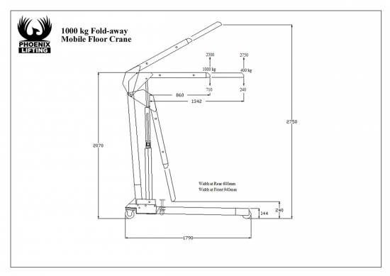 PhoenixLifting_Specs_1000kg_Foldaway_Mobile_Floor_Crane