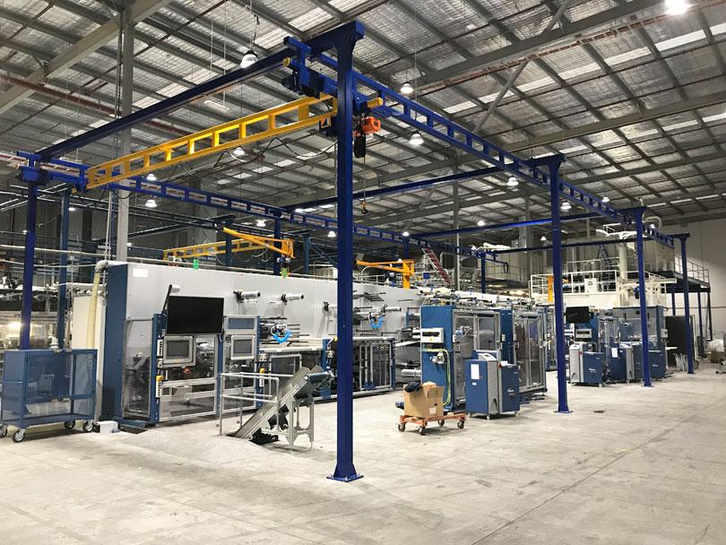 Gorbel Workstation Gantry Crane