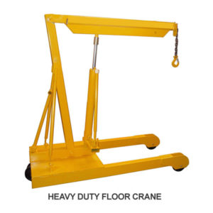 Heavy Duty Mobile Floor Crane